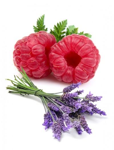 confiture-framboises-lavande-fruit